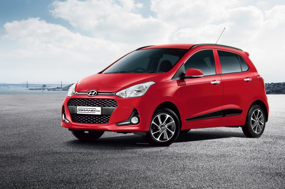 rent a car mauritius island - hyundai grand i10
