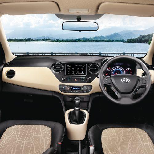 rent a car mauritius island - hyundai grand i10 interior