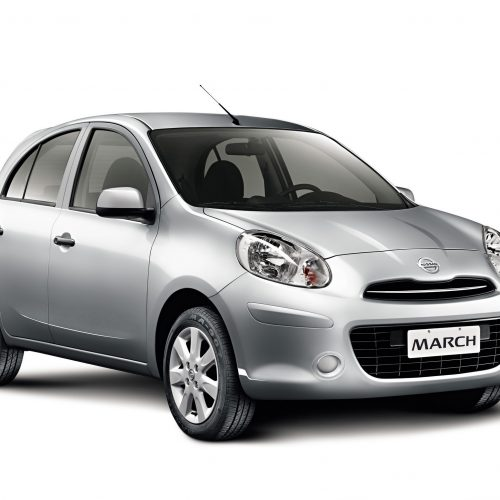 car rental mauritius - nissan march