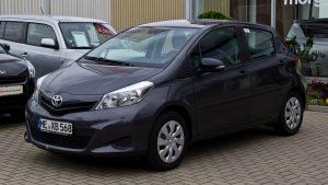 toyota vitz - car rental mauritius