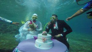 under-water-wedding-car rental mauritius