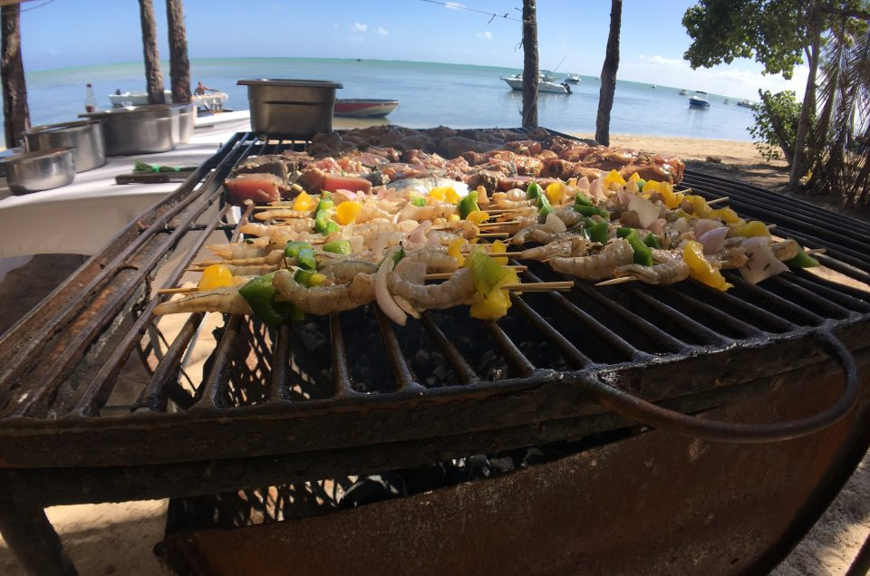 sea food - car rental mauritius