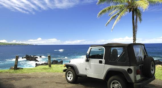 Beach-Car Rental Mauritius